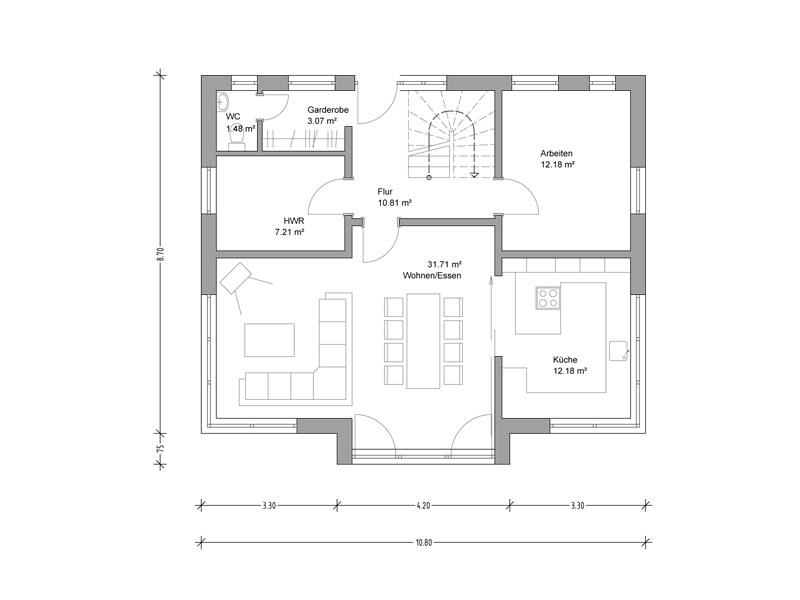 deura haus henkel. Black Bedroom Furniture Sets. Home Design Ideas