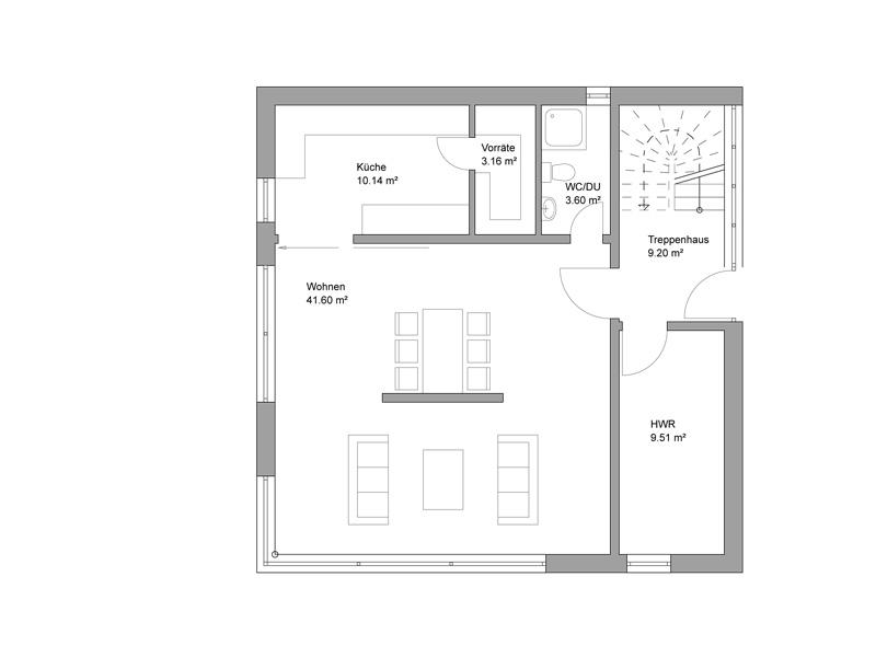 Attractive ... Weitblick Und Architektonische Raffinesse Im Inneren Machen Haus Z Zu  Einem Heim, Das Auch Noch Funktioniert, Wenn Die Kinder Einmal Aus Dem Haus  Sind.