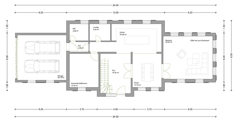 einfamilienhaus bei h nfeld deura. Black Bedroom Furniture Sets. Home Design Ideas