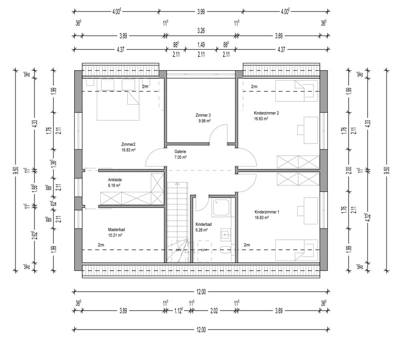haus in darmstadt deura. Black Bedroom Furniture Sets. Home Design Ideas