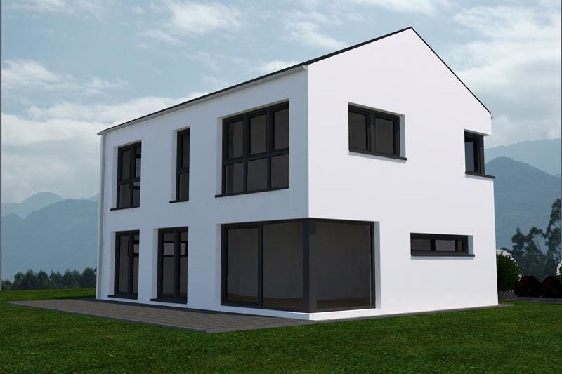 Aktuelle kundenentw rfe deura for Grundriss einfamilienhaus 2 vollgeschosse